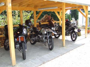 Motorräder in unserem Bike-Port