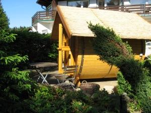 Außen-Sauna