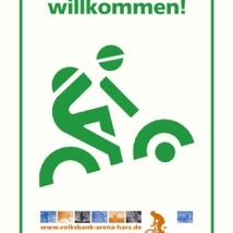 schild-mountainbiker willkommen web